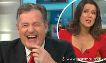 Piers Morgan leaves Susanna Reid cringing as he divulges details about his 'role play fantasies'
