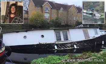 Canal boat owner is left homeless when his 100-year-old vessel sinks