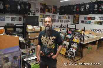 A good Ohm-N: Hit by fire and pandemic, Stellarton record store rises again - SaltWire Network