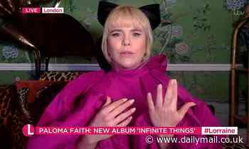 Paloma Faith admits her pregnancy is 'an emotional rollercoaster'