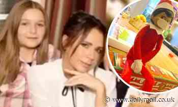 Victoria Beckham shares a snap of her Covid-friendly Elf On The Shelf
