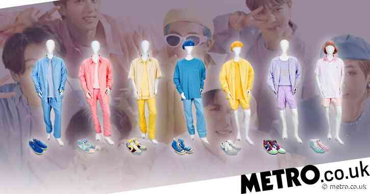 BTS's pastel costumes from Dynamite are going up for auction for music industry charity