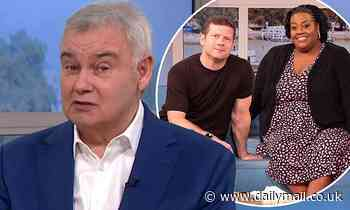 Eamonn Holmes likes cryptic tweet after he was replaced on This Morning