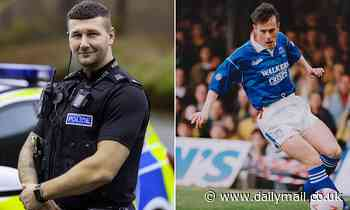 Former Leicester City Tommy Wright, 35, hangs up his scoring boots to become a POLICE OFFICER