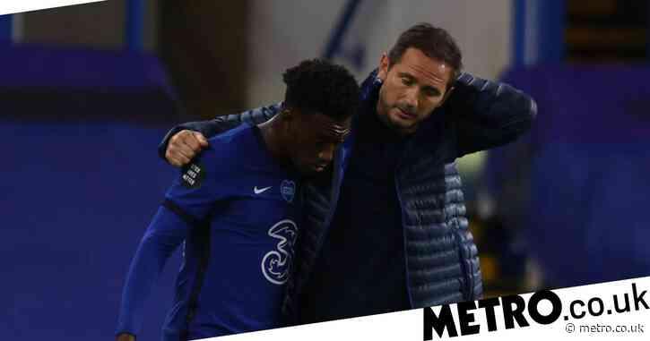 Frank Lampard reveals 'tough' conversation with Callum Hudson-Odoi