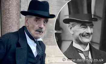 Jeremy Irons transforms into former Prime Minister Neville Chamberlain to shoot Netflix film Munich