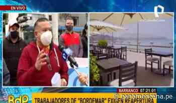 Barranco: trabajadores de 'Bordemar' exigen solución para poder reactivar operaciones | Panamericana TV - Panamericana Televisión