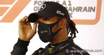 F1 champion Lewis Hamilton tests positive for coronavirus - Los Angeles Times