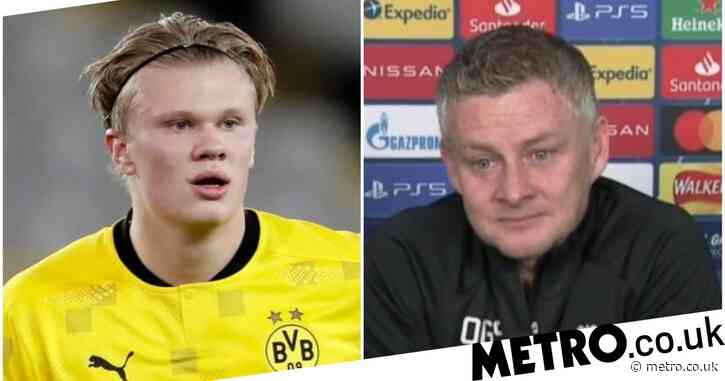 Ole Gunnar Solskjaer sends message to Erling Haaland over Champions League record