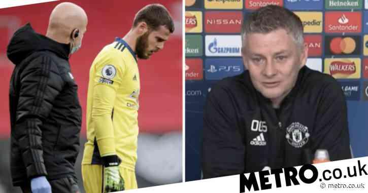 Ole Gunnar Solskjaer provides David de Gea injury update ahead of PSG clash