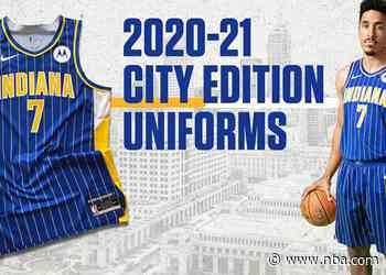 Indiana Pacers Unveil 2020-21 City Edition Uniforms