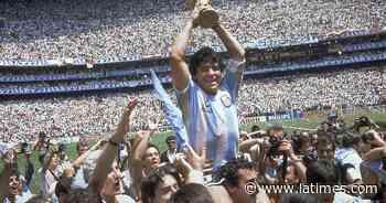 Soccer newsletter: Remembering Diego Maradona - Los Angeles Times