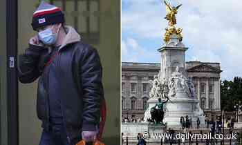 Vandal climbed Queen Victoria Memorial outside Buckingham Palace