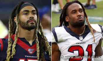 Texans teammates Will Fuller and Bradley Robey hit with six-game PED bans