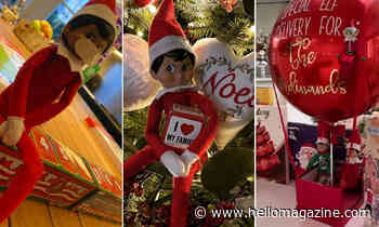 Celebrity homes overrun by Elf on the Shelf scenes: Rochelle Humes, Victoria Beckham and more