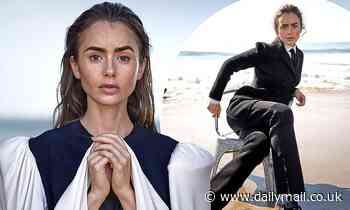 Lily Collins says lockdown helped her see the 'best and the worst' of fiancé Charlie McDowell