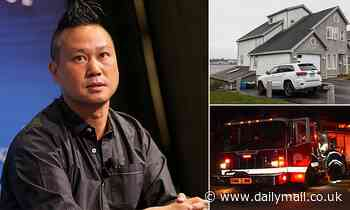 Listen as firefighters describe Tony Hsieh being 'barricaded' inside shed during house fire