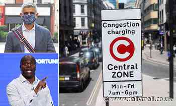 Sadiq Khan urged to SUSPEND London's £15 Congestion Charge for 12 days at Christmas to boost shops