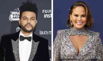 Chrissy Teigen was 'going bonkers' figuring  out which The Weeknd song she heard and he helped her
