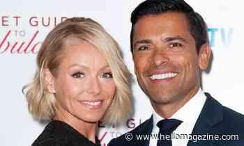 Kelly Ripa hints at exciting news for her and husband Mark Conseulos