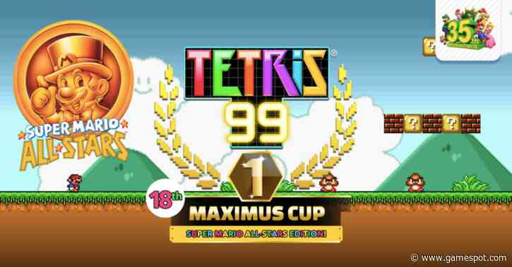 Classic Super Mario All-Stars Theme Coming To Tetris 99 This Week