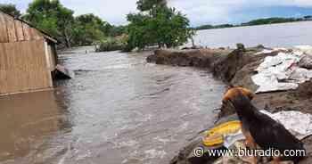 Emergencia en Barranco de Loba, sur de Bolívar, por derrumbe de muro de contención - Blu Radio