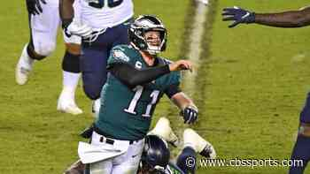 Carson Wentz has one of the biggest drop-offs in passer rating in NFL history; what it means for Eagles QB
