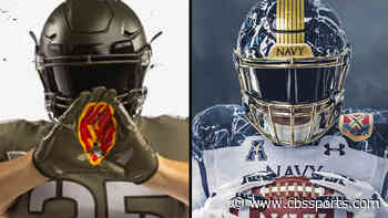 2020 Army vs. Navy Game: Uniforms unveiled for Black Knights, Midshipmen ahead of 121st rivalry meeting