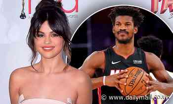 Selena Gomez 'is dating NBA star Jimmy Butler'... as the two are spotted enjoying a romantic dinner