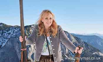 Rebel Wilson shares snowy snap from Austria after revealing she's reached her weight loss goal