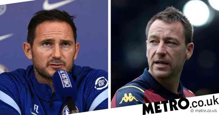 Frank Lampard sends message to fellow Chelsea legend John Terry over management links