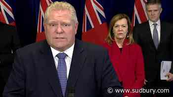 LIVE: Premier Doug Ford holds daily press briefing at 1 p.m.