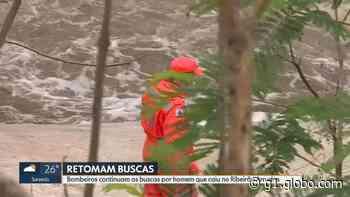 Bombeiros encontram corpo no Rio das Velhas, em Matozinhos, na Região Metropolitana de BH - G1