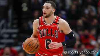 Bulls' Zach LaVine addresses trade rumors, centers focus on season