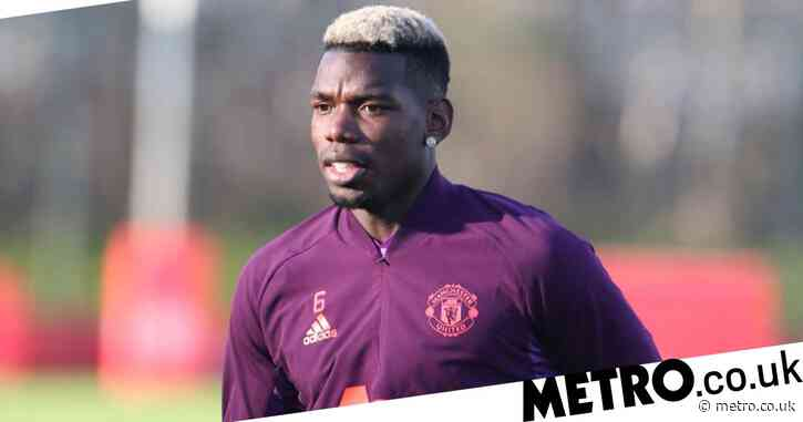 Paul Pogba returns to Manchester United training before Paris Saint-Germain clash