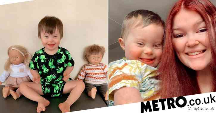 Mum of boy with Down's syndrome brought to tears by store's inclusive dolls range