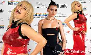 Attitude Awards 2020: Pregnant Paloma Faith and edgy Dua Lipa attend first-ever virtual ceremony