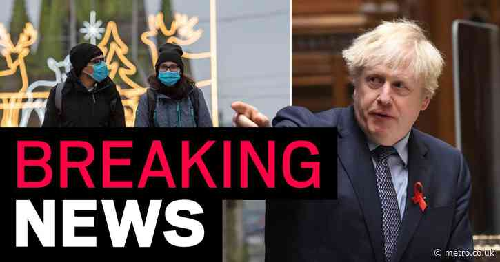 England to be plunged into toughened tiers tonight after Boris bats off Tory rebels