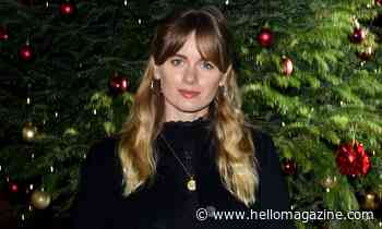 Cressida Bonas nails winter chic in stunning all-black outfit for festive night out