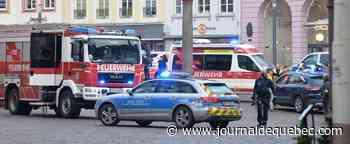 Allemagne: un «conducteur fou» fonce dans une zone piétonne et tue quatre personnes