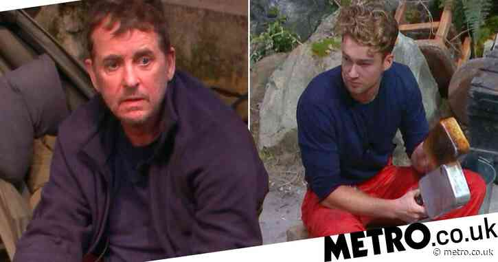 I'm A Celebrity 2020: Curtis Pritchard hits out at Shane Richie as AJ's mum explains 'that look'