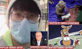 Shocking new Chinese cartoon takes aim at Australia over Afghan allegations