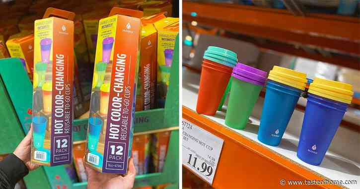 Costco Is Selling a 12-Pack of Color-Changing Hot Cups That Will Brighten Your Day