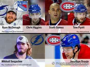 Worst trades in Canadiens history: McDonagh and Sergachev slip away