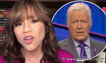 Rosie Perez talks working with Alex Trebek on White Men Can't Jump