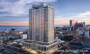 Man, 59, found dead hanging from Atlantic City hotel balcony