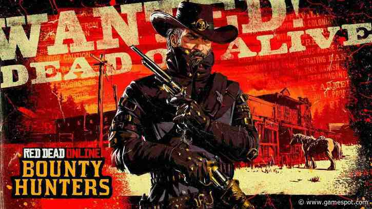 Red Dead Online's Latest Weekly Update Expands Bounty Hunter Role