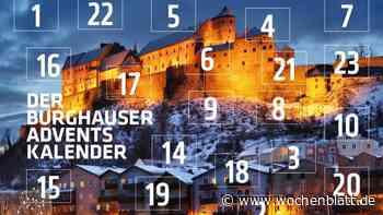 Digitaler Adventskalender der Stadt Burghausen - Wochenblatt.de