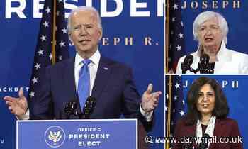 Joe Biden's new economic team, including Janet Yellen, revealed
