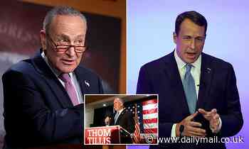 Schumer says scandal hit Cal Cunningham cost Dems the Senate because 'couldn't keep his zipper up'